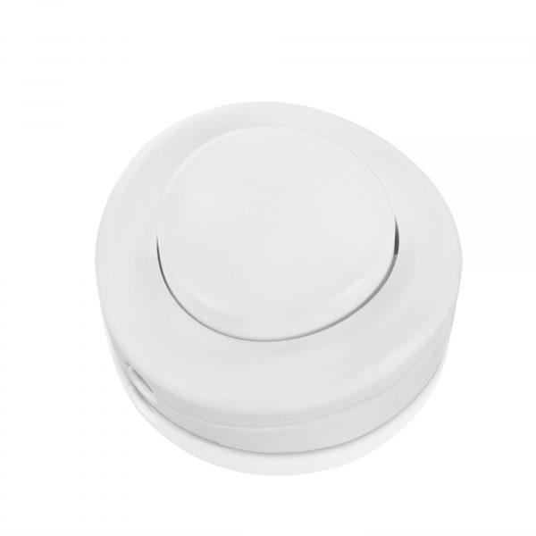 fußschalter schalter 1-polig weiß