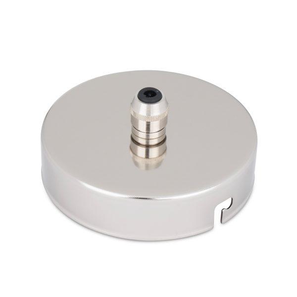 deckenbaldachin lampen baldachin eisen metall nickel zugentlastung messing nickel zentraler auslass bajonettverschluss