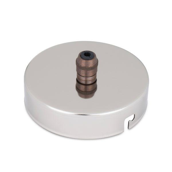 deckenbaldachin lampen baldachin eisen metall nickel zugentlastung messing old english zentraler auslass bajonettverschluss