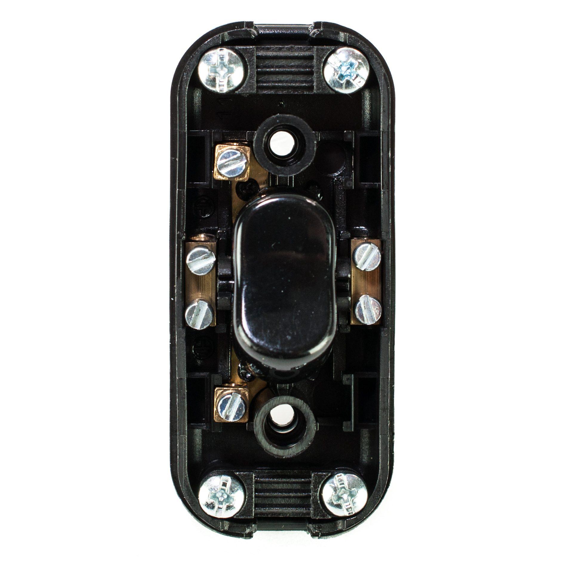 schnurschalter 1 pol 250v 2a f r 2 und 3 adrige kabel wei lightstock. Black Bedroom Furniture Sets. Home Design Ideas