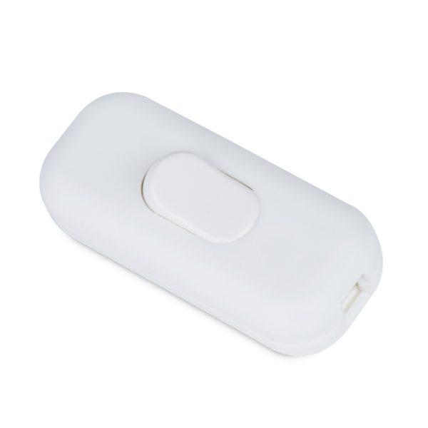 schnurschalter schalter 1-polig weiß
