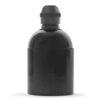 retro lampenfassung e27 bakelit kunststoff schwarz glattmantel zugentlastung messing bronze antik brüniert