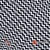 Textilkabel für Aufputz-Elektroinstallation Schwarz-Weiß - (3x1.5mm)